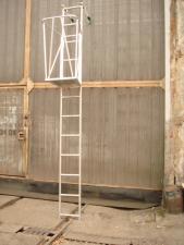 Лестница навесная типа ЛА. Площадка навесная типа БА-1