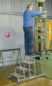 Подставка монтажная алюминиевая