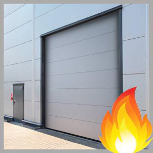 купить Противопожарные секционные ворота